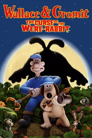 Wallace and Gromit in The Curse of the Were-Rabbit